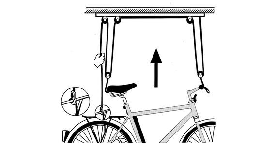Atlantic Fahrrad-Deckenlift